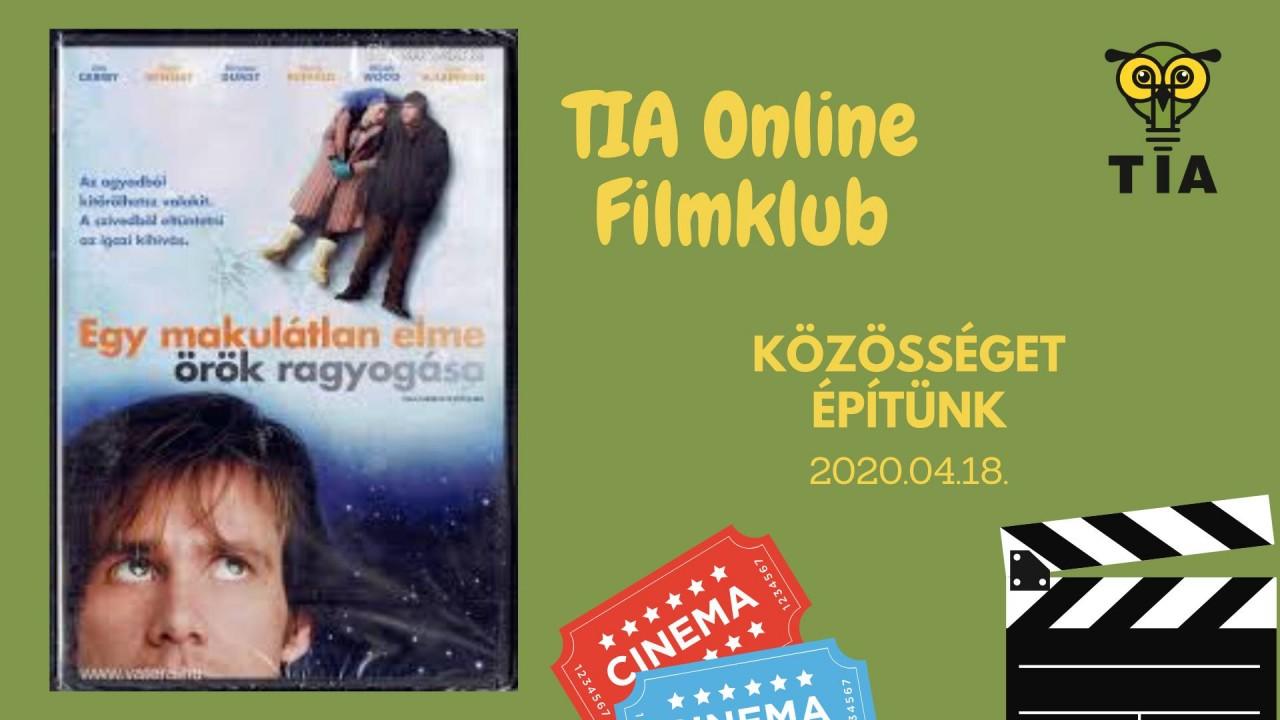 Egy makulátlan elme örök ragyogása - TIA online filmklub