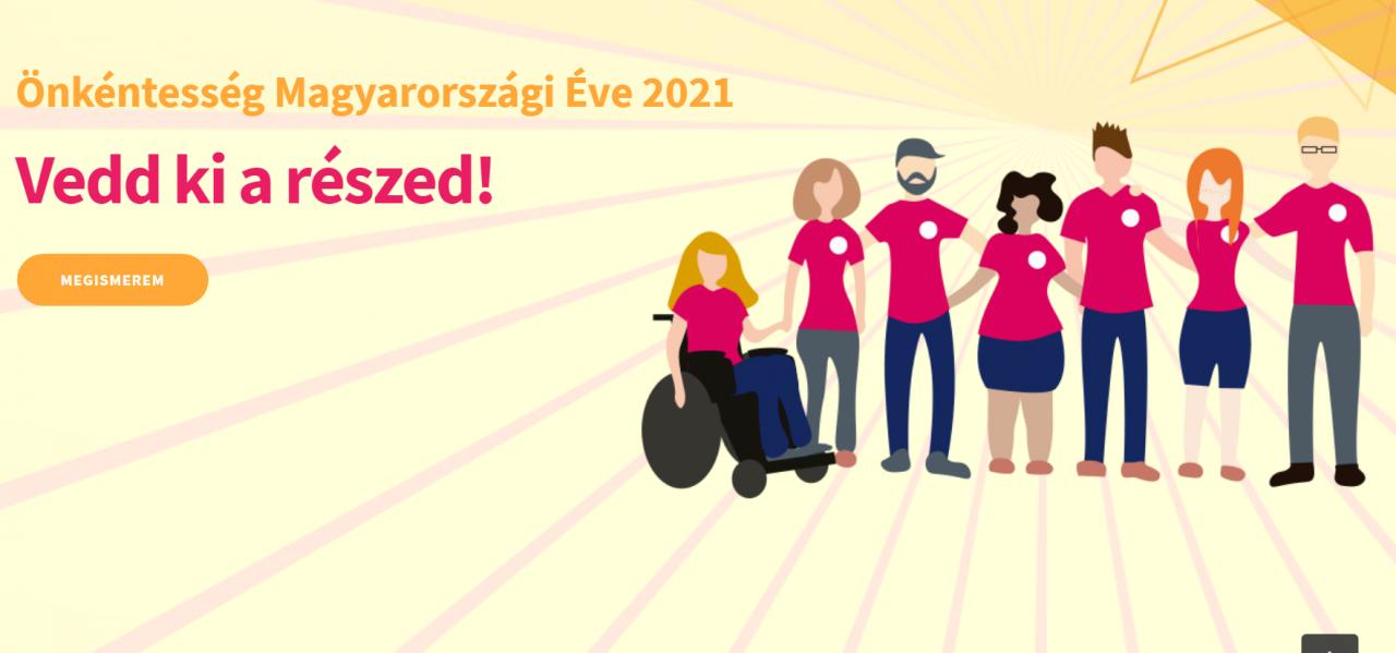 A TIA is csatlakozott az Önkéntesség Magyarországi Éve 2021 kezdeményezéshez