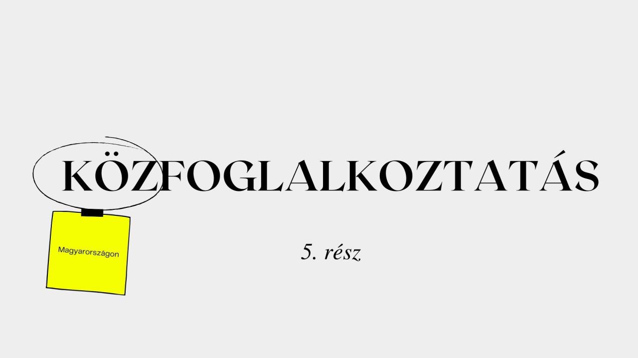 Minden, amit a közfoglalkoztatásról tudni akartál: Hová tart a tranzitfoglalkoztatás Magyarországon? - 5. rész